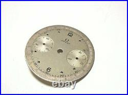 Ultra Rare Vintage Omega Chronograph 33.3 Watch Dial For Parts Genuine 100%
