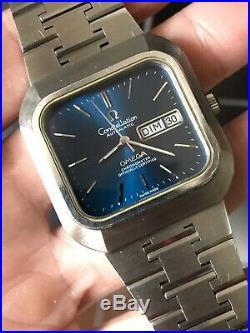 Ultra Rare Vintage Omega Constellation Chronometer Gerald Genta ST 368.0858