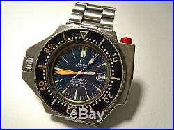 Ultra Rare Vintage Omega Seamaster 600 Ploprof Ref 166.077 With 1162 Bracelet