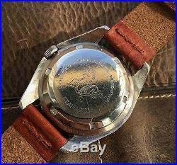 Ultra rare Vintage diver Omega Seamaster 300 166.024 with stunning gilt dial