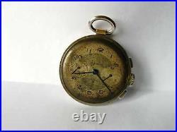 Ultra rare vintage watch chronograph 1940 VENUS 152 first edition valjoux 22 23