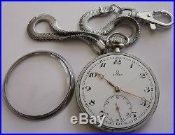 VERIY RARE-OMEGA-clock was awarded-SWISS POCKET WATCH MEN, S