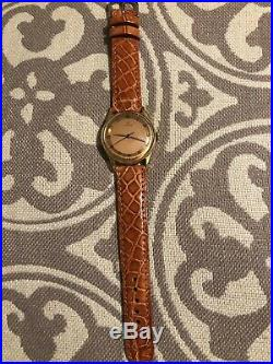 VINTAGE Omega Watch Very Rare 1940s Hand Wind 16j Truly A Beauty Serviced