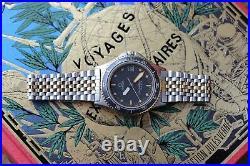 Very Rare 2 tones Vintage Omega Seamaster Calypso 1 Cal. 1337 Quartz DB396.0929
