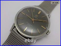 Very Rare Vintage'67 Omega Seamaster 600 (135.00011) Mens Watch Cal. 601 & Mesh