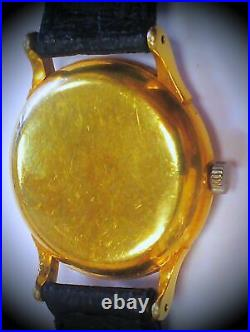 Very Rare! & Vintage! OMEGA Constellation 18K Solid Gold Watch