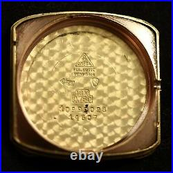 Very Rare Vintage Omega 14607, Museum Collection 18k Solid Gold Auto Mens Watch