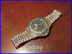 Very Rare Vintage Omega Seamaster Calypso 1 Cal. 1337 Quartz DB396.0929 38mm