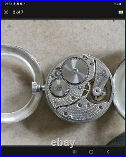Very rare omega Silver Triple Signed Trench WW1 Watch 1975
