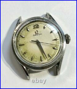 Vintage 1950 Omega watch rare Cal. 420 dial has Toning! One of a kind