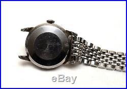 Vintage 1958 Omega Steel Automatic Seamaster Cal 501 Rare Beads Of Rice Bracelet