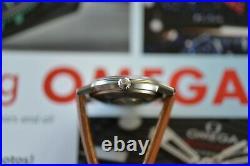 Vintage 1960s Omega Automatic Seamaster Watch RARE ONYX Dial Beautiful Original