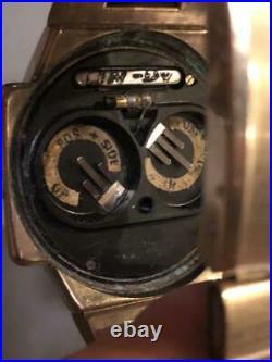 Vintage 1970's OMEGA TIME COMPUTER DIGITAL LED Wristwatch Rare