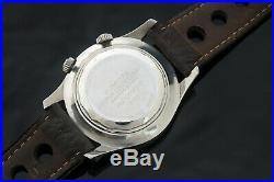Vintage 60s Frey Super Compressor Diver Watch 42mm Rare Serviced