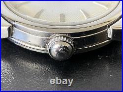Vintage Mens 1950s Omega Seamaster Waffle Dial Rare Cal 420! Spares/Repairs