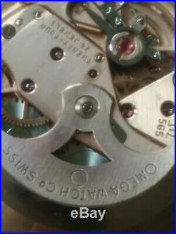 Vintage OMEGA Automatic SEAMASTER CAL. 565 STUNNING Rare Original Omega Glass