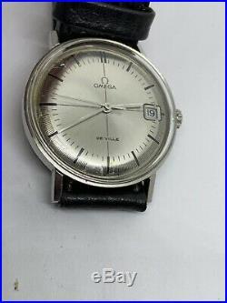 Vintage OMEGA De Ville Art Deco Cal 613 Hand-winding Ref 136.019 Very Rare
