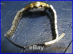 Vintage OMEGA Speedmaster Professional Gold Mark II Very Rare with Black Bezel