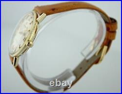 Vintage Omega 1961 Seamaster KL6292 Rare Cal 560 Gold Plated Men's Watch