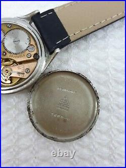 Vintage Omega Cal. 268 Sub Second Swiss Made Mens Wrist Watch Rare Swiss