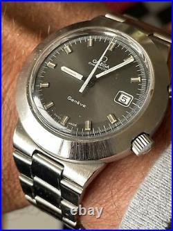 Vintage Omega Chronostop Geneve Jumbo Mens Watch Rare