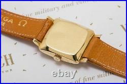Vintage Omega Rare Vintage 18Ct Solid Gold Dress Watch Men's Wristwatch