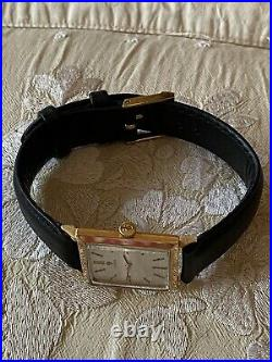 Vintage Omega Rare Vintage 18K Solid Gold Dress Watch Men's 1947