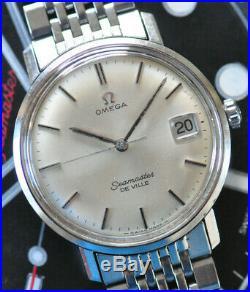 Vintage Omega Seamaster De Ville Watch RARE ALL Original Manual Movement Stunner