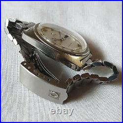 Vintage Omega Seamaster Jumbo & Sparkle Dial Men's Watch Rare To Find 1972