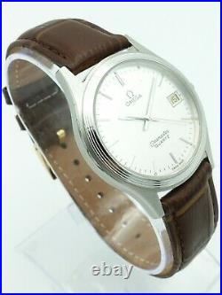 Vintage Omega Seamaster Quartz Watch (Rare Dial), 1980s, 35mm, Great Condition