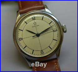 Vintage Omega Sector Dial 30T2 SC early Waterproof Type RARE