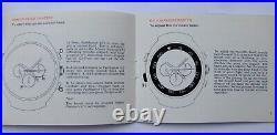 Vintage Omega Speedmaster, Flightmaster, Chronostop Instruction Book Manual. V Rare
