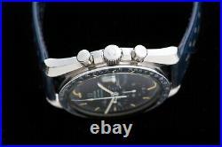 Vintage Omega Speedmaster Watch Professional Very Rare Blue 220 Bezel Mens Wrist