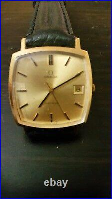 Vintage Omega Watch. Square Case. Manual Wind. Rare to Find this model on Ebay