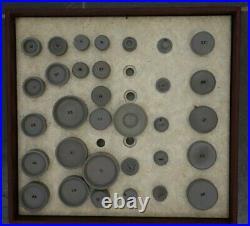 Vintage Omega watch press set watchmaker tools original box rare collectible