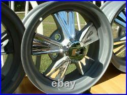 Vintage Original Hurst Mag Wheel Center Cap GTO Lemans 14x6 Chevy Chevelle Nova