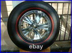 Vintage Original Hurst Mag Wheel Spinner Center Cap Redline Tire GTO Olds 442 GM