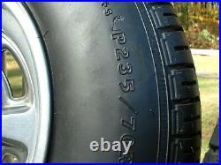 Vintage Pontiac Rally II Mag Wheel Goodyear Eagle GT Tire Center Cap 15x7 Lemans