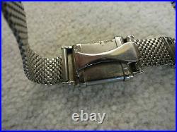 Vintage Rare 1930's OMEGA MARINE Diver's Swiss watch Forstner Komfit Band
