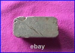 Vintage Rare 2oz Omega hand poured silver bar