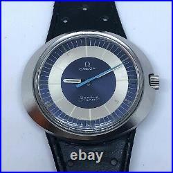 Vintage Rare Omega Dynamic Dress Watch Mens Size 42 MM