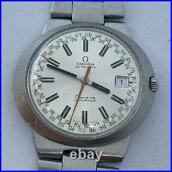 Vintage Rare Omega Dynamic Racing Automatic Date Mens Watch 42 MM