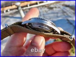 Vintage Rare Omega Seamaster 300 Diver Watch Big Triangle 166.024 166024