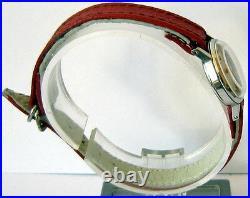 Vintage Rareomegaall Steel Genuine Swiss Ladies Mechanical Watch Cal. 620 # 499