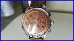Vintage very rare all original parker decathlon chronograph watch running