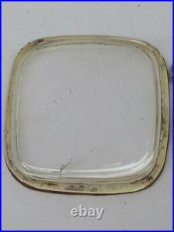 Vtg Omega Constellation Auto 168.059 Steel S Date Men's Wrist Watch Rare Dial