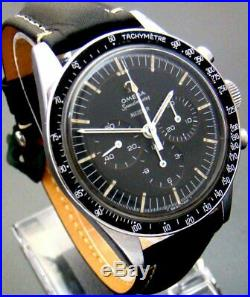Vtg Rare 1965 Omega Speedmaster Meister Mens Watch 321 St 105003-65 Ed White